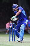NELSON, NEW ZEALAND - FEBURARY 10: Premier Cricket ACOB v Nelson College on February 10 2018 in Nelson, New Zealand. (Photo by: Evan Barnes Shuttersport Limited)