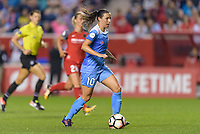Bridgeview, IL - Saturday August 12, 2017: Vanessa DiBernardo during a regular season National Women's Soccer League (NWSL) match between the Chicago Red Stars and the Portland Thorns FC at Toyota Park. Portland won 3-2.