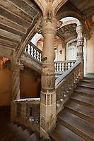 Europe/France/Aquitaine/24/Dordogne/Périgueux: Escalier à la Française  de l' Hôtel de Lestrade ou Maison La Joubertie
