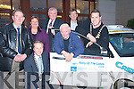 Legendary driver Billy Coleman launching the 2008 Rally of the Lakes in the Brehon Hotel Killarney on Sunday were l-r Cllr Michael Courtney, Dunnacha Galvin Killarney Chamber of Commerce, Cllr Sheila Casey, Brian McArdle, Billy Coleman, Cllr Patrick O'Donoghue and Mayor Niall O'Callaghan   Copyright Kerry's Eye 2008