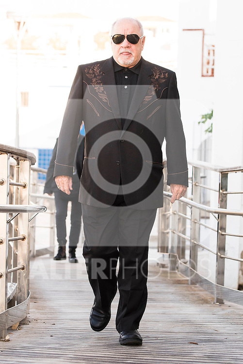"American screenwriter and director Paul Schrader attends to the photocall of the film ""Dog Eat Dog"" at Festival de Cine Fantastico de Sitges in Barcelona. October 11, Spain. 2016. (ALTERPHOTOS/BorjaB.Hojas)"