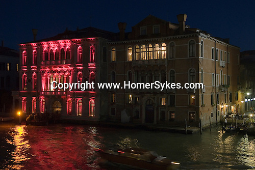 Venice Italy 2009. Grand Canal.