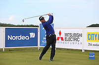 Andrew McArthur (SCO) plays driver to the second hole during Round Two of the 2015 Nordea Masters at the PGA Sweden National, Bara, Malmo, Sweden. 05/06/2015. Picture David Lloyd | www.golffile.ie