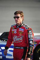 May 2, 2008; Richmond, VA, USA; NASCAR Sprint Cup Series driver Kasey Kahne during qualifying for the Dan Lowry 400 at the Richmond International Raceway. Mandatory Credit: Mark J. Rebilas-US PRESSWIRE