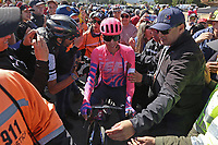 TUNJA - COLOMBIA, 11-02-2020: Rigoberto Uran (COL), EF EDUCATION FIRST previo a la segunda etapa del Tour Colombia 2.1 2020 con un recorrido de 152,4 km, que se corrió entre Paipa y Duitama, Boyacá. / Rigoberto Uran (COL) EF EDUCATION FIRST prior the second stage of 152,4 km as part of Tour Colombia 2.1 2020 that ran between Paipa and Duitama, Boyaca.  Photo: VizzorImage / Darlin Bejarano / Cont