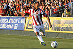 05 June 2012: Chivas USA's Laurent Courtois (FRA). The Carolina RailHawks (NASL) lost 1-2 to Club Deportivo Chivas USA (MLS) at WakeMed Soccer Stadium in Cary, NC in a 2012 Lamar Hunt U.S. Open Cup fourth round game.