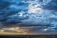 Stormy sky at sunset. Huerfano County, Colorado.  May 28, 2015
