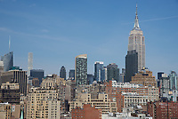 Empire State Building View from Chelsea Neighborhood Hotel High Rise