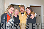 Brendan Grace Show: Amy & Kay O'Hara & Audrey Duggan pictired with Brendan Grace at the Listowel Sports Centre on Friday night last.