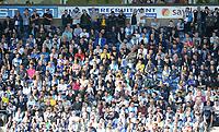 Blackburn Rovers fans watch their team in action <br /> <br /> Photographer Kevin Barnes/CameraSport<br /> <br /> The EFL Sky Bet Championship - Blackburn Rovers v Millwall - Saturday September 14th 2019 - Ewood Park - Blackburn<br /> <br /> World Copyright © 2019 CameraSport. All rights reserved. 43 Linden Ave. Countesthorpe. Leicester. England. LE8 5PG - Tel: +44 (0) 116 277 4147 - admin@camerasport.com - www.camerasport.com