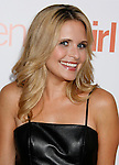 """HOLLYWOOD, CA. - September 15: Actress Sally Pressman arrives at the world premiere of """"My Best Friend's Girl"""" at The Arclight Hollywood on September 15, 2008 in Hollywood, California."""