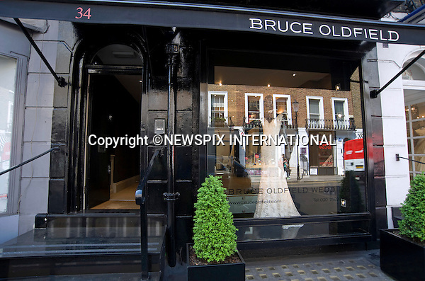 "PRINCE WILLIAM & KATE MIDDLETON Pre-Wedding_Bruce Oldfield Wedding Shop_23/04/2011.Mandatory Photo Credit: ©Dias/NEWSPIX INTERNATIONAL..**ALL FEES PAYABLE TO: ""NEWSPIX INTERNATIONAL""**..PHOTO CREDIT MANDATORY!!: NEWSPIX INTERNATIONAL(Failure to credit will incur a surcharge of 100% of reproduction fees)..IMMEDIATE CONFIRMATION OF USAGE REQUIRED:.Newspix International, 31 Chinnery Hill, Bishop's Stortford, ENGLAND CM23 3PS.Tel:+441279 324672  ; Fax: +441279656877.Mobile:  0777568 1153.e-mail: info@newspixinternational.co.uk"