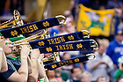 Mar. 28, 2015; The Notre Dame band plays at the 2015 NCAA Tournament regional final against Kentucky. (Photo by Matt Cashore/University of Notre Dame)