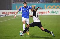 Kevin Großkreutz (SV Darmstadt 98) gegen Manuel Stiefler (SV Sandhausen) - 17.11.2017: SV Darmstadt 98 vs. SV Sandhausen, Stadion am Boellenfalltor, 2. Bundesliga