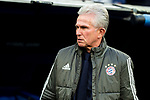Bayern Munich coach Jupp Heynckes during Semi Finals UEFA Champions League match between Real Madrid and Bayern Munich at Santiago Bernabeu Stadium in Madrid, Spain. May 01, 2018. (ALTERPHOTOS/Borja B.Hojas)