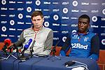 14.08.2019 Rangers training: Steven Gerrard and Sheyi Ojo