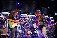 LONDON, ENGLAND - FEBRUARY 2: Mark Karan and Slick Aguilar of 'Live Dead 69' performing at Under The Bridge on February 2, 2018 in London, England.<br /> CAP/MAR<br /> &copy;MAR/Capital Pictures