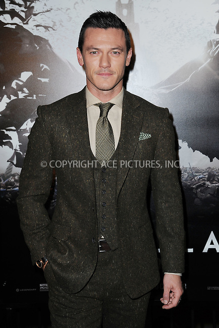 WWW.ACEPIXS.COM<br /> October 6, 2014 New York City<br /> <br /> Luke Evans attending the 'Dracula Untold' New York Premiere at AMC Loews 34th Street Theater on October 6, 2014 in New York City.<br /> <br /> <br /> By Line: Kristin Callahan/ACE Pictures<br /> ACE Pictures, Inc.<br /> tel: 646 769 0430<br /> Email: info@acepixs.com<br /> www.acepixs.com