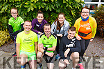 Ready for road at the Causeway Macra 5k run for Downs Syndrome on Sunday. <br /> Kneeling l-r, Ger Flavin, Sean Joy and Thomas O&rsquo;Connell.<br /> Back l-r, Laura Kate Spillane, Maura Griffin, Jacinta Hughes and Helen Broderick.