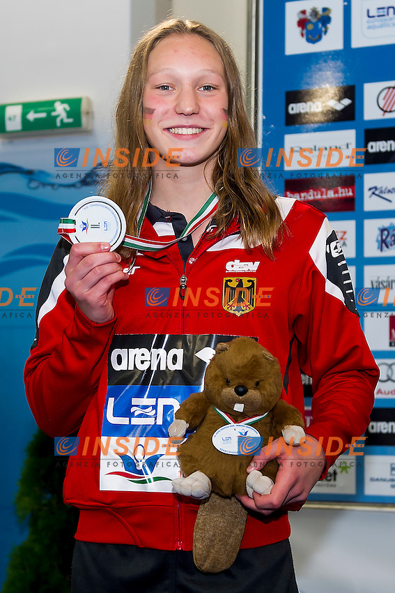 Mrozinski Julia GER<br /> 200 Butterfly Women Final Silver Medal<br /> LEN 43rd Arena European Junior Swimming Championships<br /> Hodmezovasarhely, Hungary <br /> Day02 07-07-2016<br /> Photo Andrea Masini/Deepbluemedia/Insidefoto