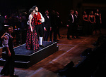 "Laura Osnes and Tony Yazbeck with cast performing during the MCP Production of ""The Scarlet Pimpernel"" Concert at the David Geffen Hall on February 18, 2019 in New York City."