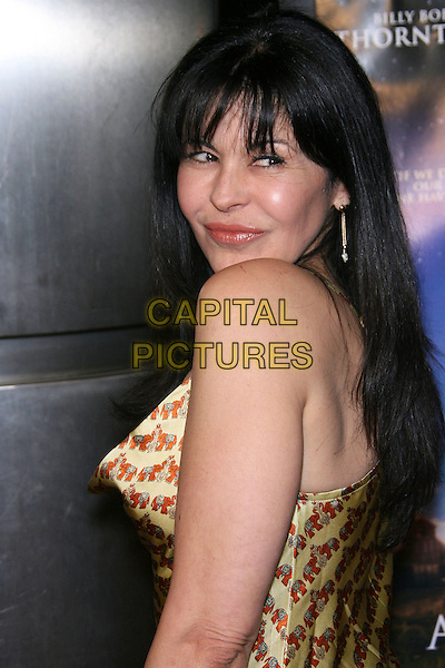 "MARIA CONCHITA ALONSO.""The Astronaut Farmer"" World Premiere - Arrivals held at the Cinerama Dome, Hollywood, California , USA, .20 February 2007..half length gold dress.CAP/ADM/ZL.©Zach Lipp/AdMedia/Capital Pictures."