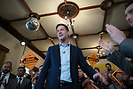 © Joel Goodman - 07973 332324 . 01/05/2015 . Manchester , UK . NICK CLEGG speaks at a Liberal Democrat party rally at Chorlton-cum-Hardy Golf Club . Liberal Democrat party leader Nick Clegg visits the constituency of Manchester Withington to deliver a speech on the NHS and campaign with local candidate John Leech . Photo credit : Joel Goodman