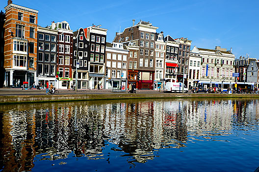 Amsterdam is Amstel River.