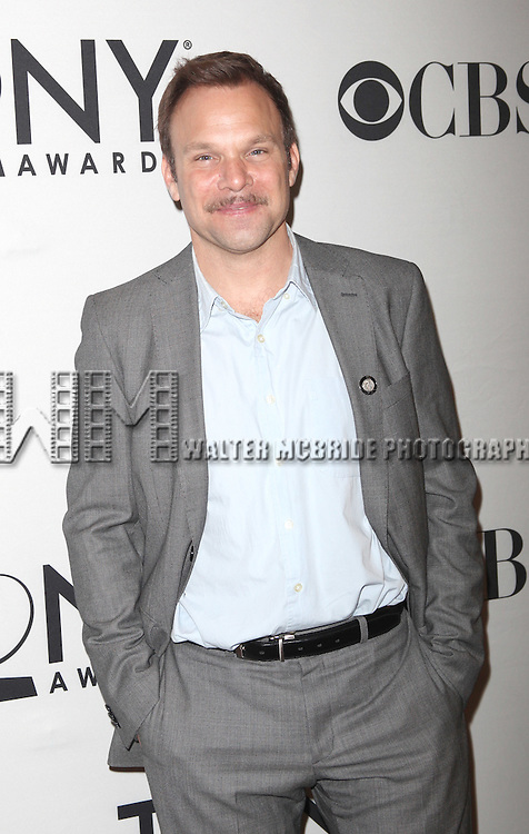Norbet Leo Butz.attending the 65th Annual Tony Awards Meet The Nominees Press Reception at the Millennium Hotel in New York City.