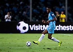 Manchester City defender Tosin Adarabioyo plays against Borussia Dortmund during the 2016 International Champions Cup China match at the Shenzhen Stadium on 28 July 2016 in Shenzhen, China. Photo by Marcio Machado / Power Sport Images