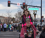 A photograph taken during the Sparks Hometowne Christmas Parade held on Saturday, December 2, 2017.