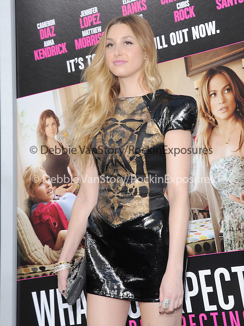 Whitney Port at Lionsgate L.A. Premiere of  What to Expect When You're Expecting held at The Grauman's Chinese Theatre in Hollywood, California on May 14,2012                                                                               © 2012 Hollywood Press Agency