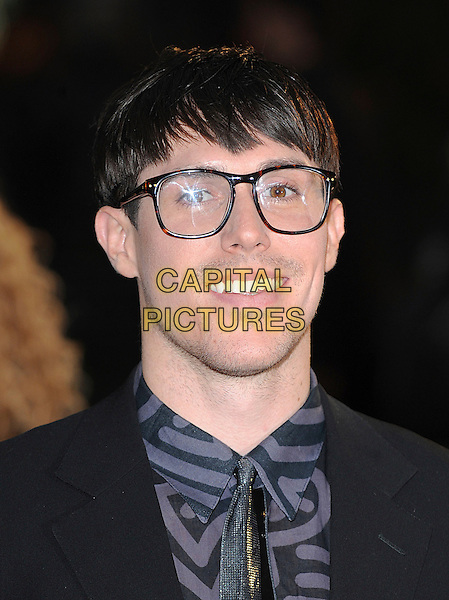 "SAM SPARRO .attending ""Tropic Thunder"" UK Premiere, Odeon Leicester Square, London, England, 16th September 2008..portrait headshot glasses tie geek geeky .CAP/BEL.©Tom Belcher/Capital Pictures"
