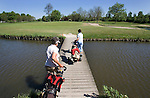 Rijswijkse Golfclub hole 12. brug, bruggetje