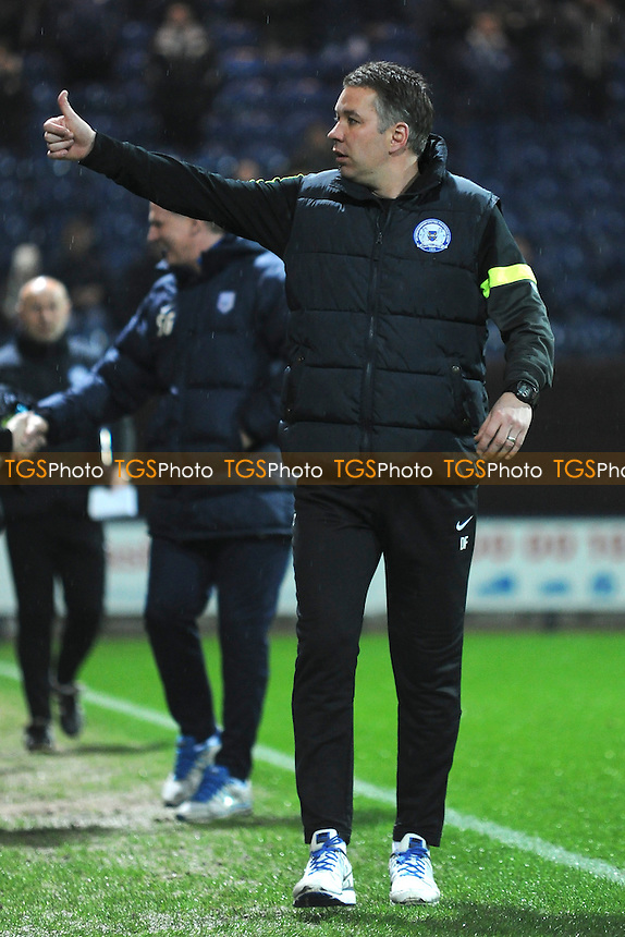 Peterborough United manager Darren Ferguson - Preston North End vs Peterborough United - Sky Bet League One Football at Deepdale, Preston, Lancashire - 25/03/14 - MANDATORY CREDIT: Greig Bertram/TGSPHOTO - Self billing applies where appropriate - 0845 094 6026 - contact@tgsphoto.co.uk - NO UNPAID USE