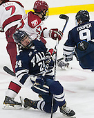 Mike Doherty (Yale - 24) - The visiting Yale University Bulldogs defeated the Harvard University Crimson 2-1 (EN) on Saturday, November 15, 2014, at Bright-Landry Hockey Center in Cambridge, Massachusetts.