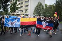 2015/08/28 Heidenau | Rassisten gegen Flüchtlingsunterkunft