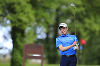 Liam Abom (Edmondstown) during the final round of the Connacht Boys Amateur Championship, Oughterard Golf Club, Oughterard, Co. Galway, Ireland. 05/07/2019<br /> Picture: Golffile | Fran Caffrey<br /> <br /> <br /> All photo usage must carry mandatory copyright credit (© Golffile | Fran Caffrey)
