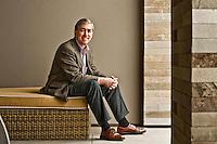 Richard Lifton pictures: Executive portrait photography of Dr. Richard Lifton - Yale -  by San Francisco corporate photographer Eric Millette