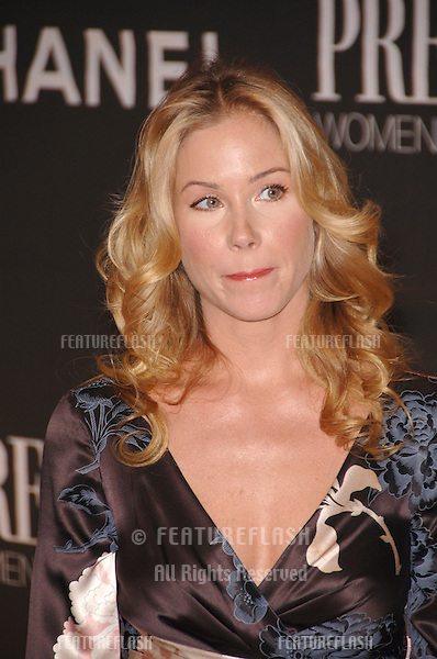 Actress CHRISTINA APPLEGATE at the 13th Annual Premiere Magazine Women in Hollywood gala at the Beverly Hills Hotel..September 20, 2006  Los Angeles, CA.© 2006 Paul Smith / Featureflash