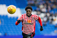 Josh Maja of Sunderland during the Sky Bet Championship match between Cardiff City and Sunderland at the Cardiff City Stadium, Cardiff, Wales on 13 January 2018. Photo by Mark  Hawkins / PRiME Media Images.