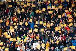 ROTTERDAM - Publiek bij een goal  tijdens de Pro League hockeywedstrijd dames, Netherlands v USA (7-1)  .   .COPYRIGHT  KOEN SUYK