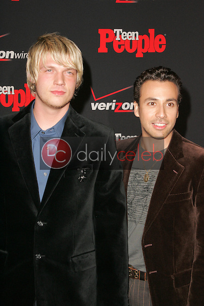 Nick Carter and Howie Dorough<br /> at the Teen People's 4th Annual Artists of the Year Party, Element, Hollywood, CA 11-22-05<br /> David Edwards/DailyCeleb.Com 818-249-4998