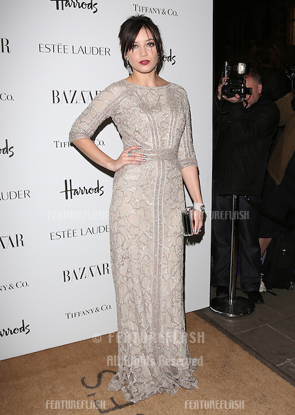 Daisy Lowe arriving for the Harper's Bazaar Women of the Year Awards 2012 at Claridge's Hotel, London. 31/10/2012 Picture by: Henry Harris / Featureflash