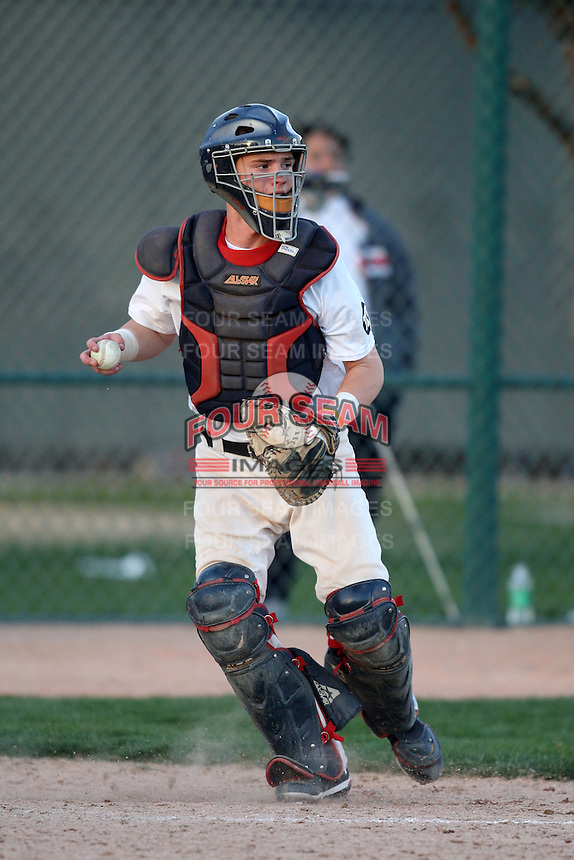 January 16, 2010:  Cole Lankford (Houston, TX) of the Baseball Factory National Team during the 2010 Under Armour Pre-Season All-America Tournament at Kino Sports Complex in Tucson, AZ.  Photo By Mike Janes/Four Seam Images