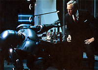 RoboCop (1987) <br /> Peter Weller &amp; Ronny Cox<br /> *Filmstill - Editorial Use Only*<br /> CAP/KFS<br /> Image supplied by Capital Pictures