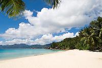 Seychelles, Island Mahe, Anse Soleil: beach at southwest coast