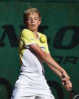 Hilversum, Netherlands, August 10, 2016, National Junior Championships, NJK, Liam Liles (NED)<br /> Photo: Tennisimages/Henk Koster