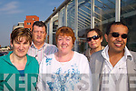 DA?IL TRIP: At Tralee railway station on Tuesday morning on their way to the Da?il were adult education students Sandra Healy, John Horan, Anne Ryle, Isobel Dumont and Seif Taher.   Copyright Kerry's Eye 2008