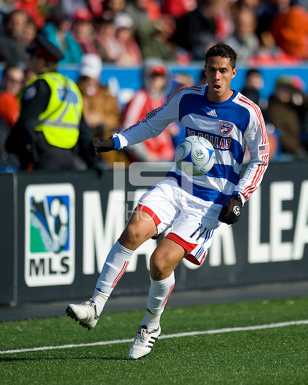 11 April 2009:  FC Dallas midfielder Andre Rocha #11 in action during an MLS game at BMO Field in Toronto between FC Dallas and Toronto FC. The game ended in a 1-1 draw.